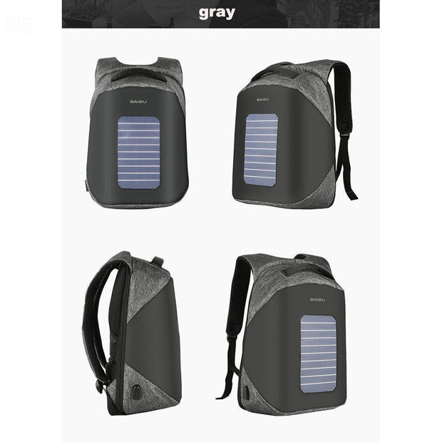 BAIBU Solar Powered Designer Backpack | Ten Big Ones
