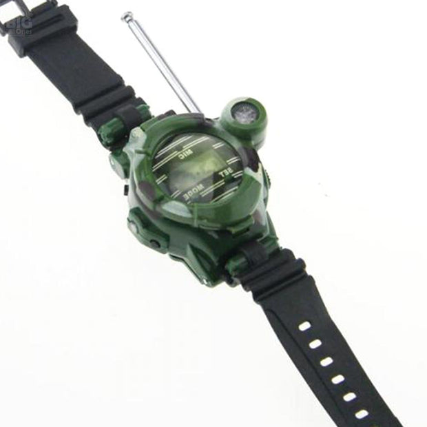 Walkie Talkie Camouflage Watches 2 Pc | Ten Big Ones