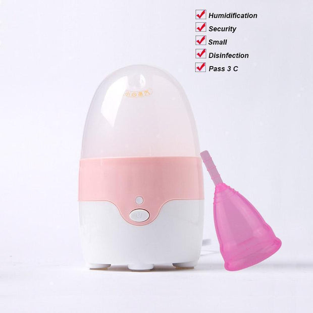 AneerCare Silicone Menstrual Cup Sterilizer | Ten Big Ones
