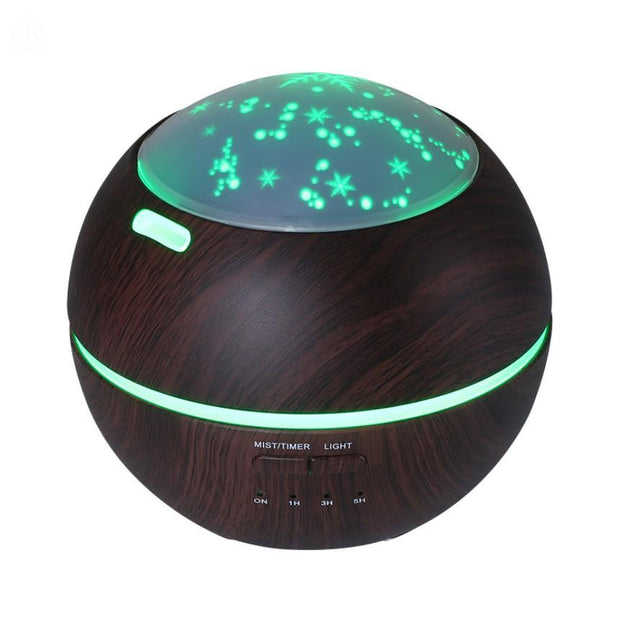 LED Projector Ultrasonic Aroma Humidifier | Ten Big Ones