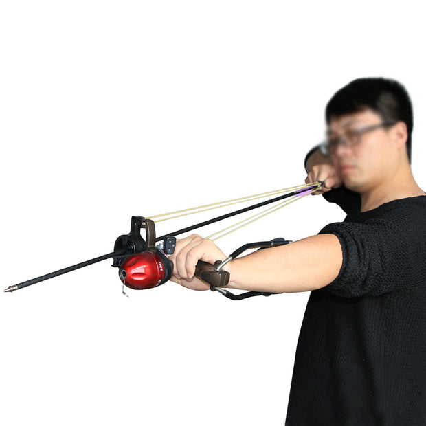Folding Wrist Catapult Fishing Sling Shot