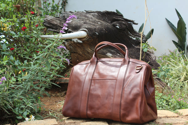 Travel bag by TLB-The Leather Boutique