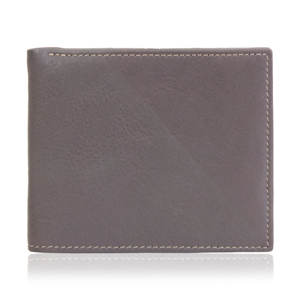City Wallet In Cow Milled Leather
