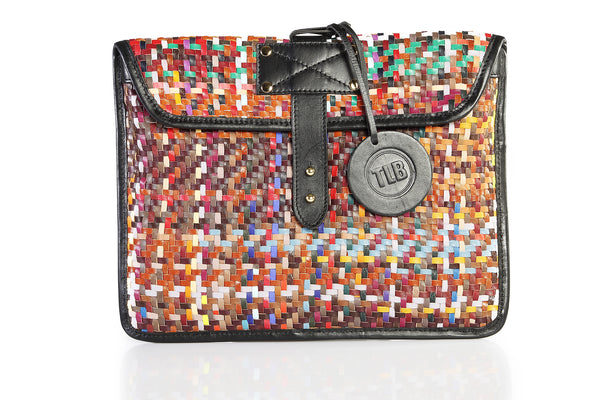Pixel Ipad Sleeve - TLB - The Leather Boutique