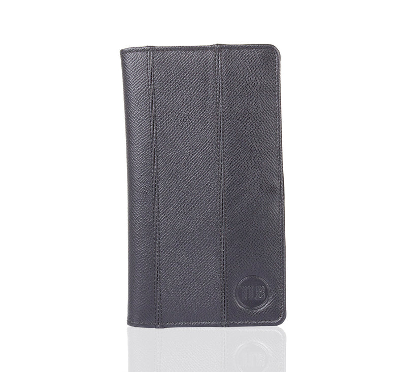 Lancaster Black Leather Wallet