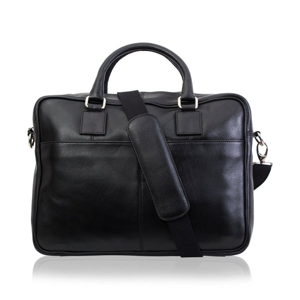 Doc Holiday Leather Briefcase - The Leather Boutique