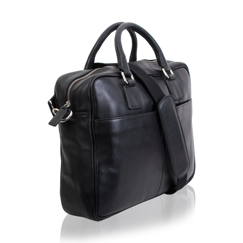 Doc Holiday Leather Briefcase - TLB - The Leather Boutique