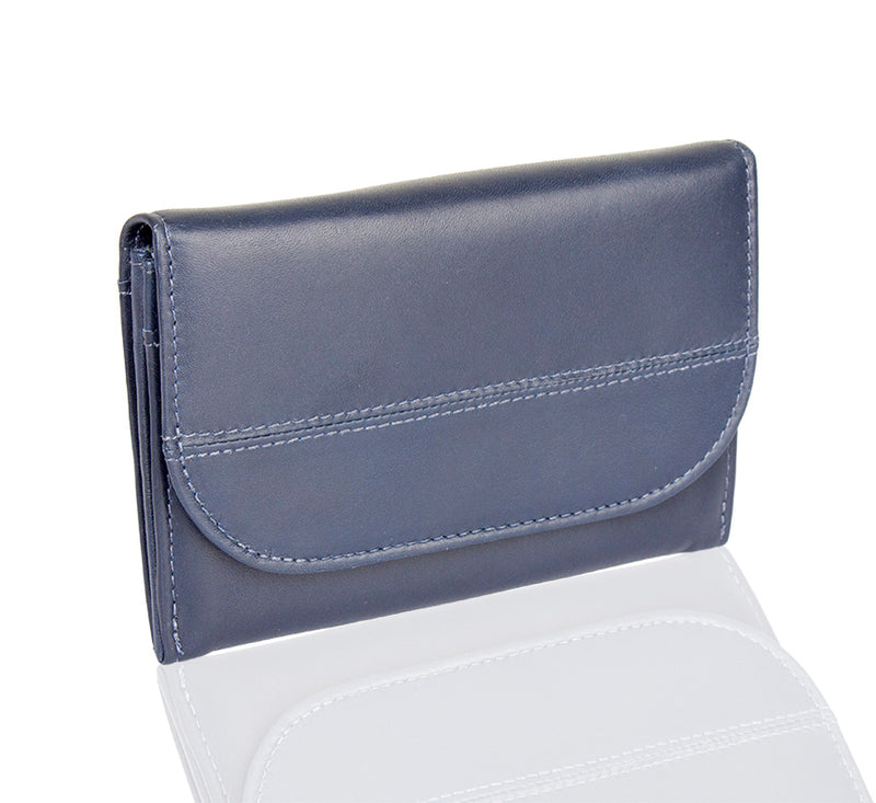 Lil Flap Leather Wallet - TLB - The Leather Boutique