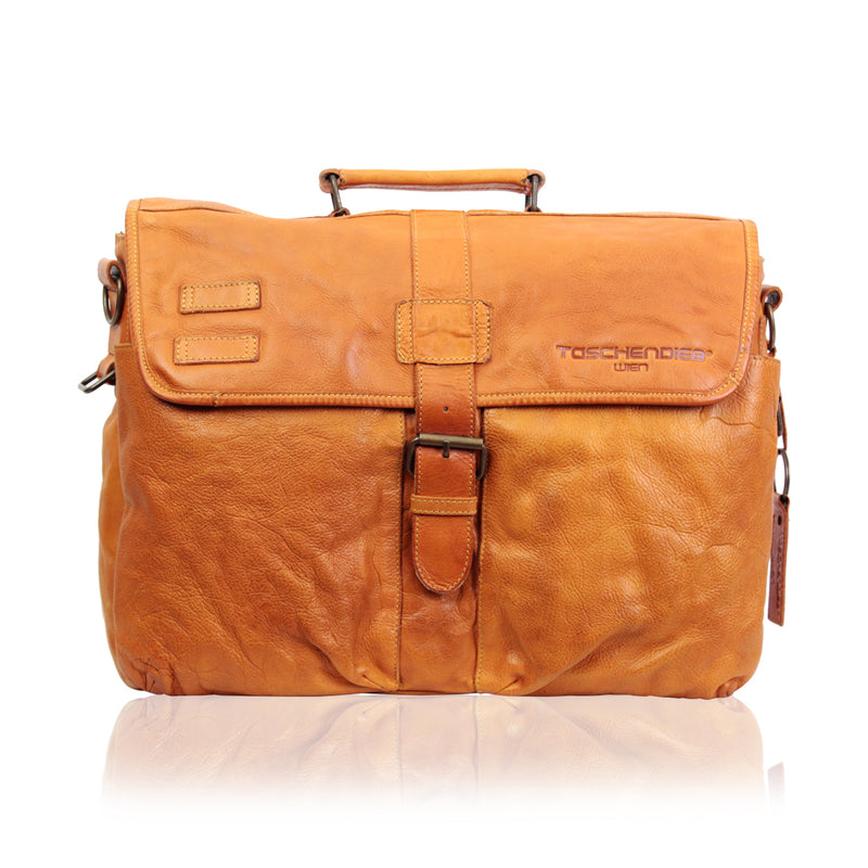 TASCHENDIEB WIEN LEATHER MESSENGER