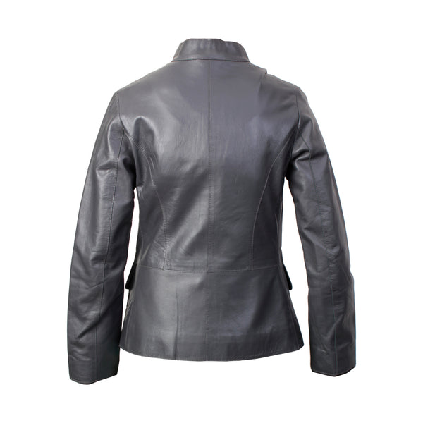 Women's Leather Jacket (Resin Nappa)