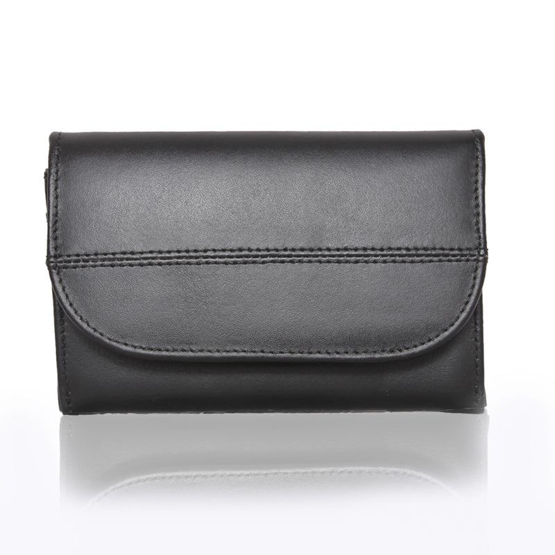 Lil Flap Leather Wallet - The Leather Boutique