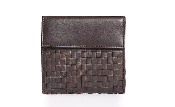 High Street Black Leather Wallet