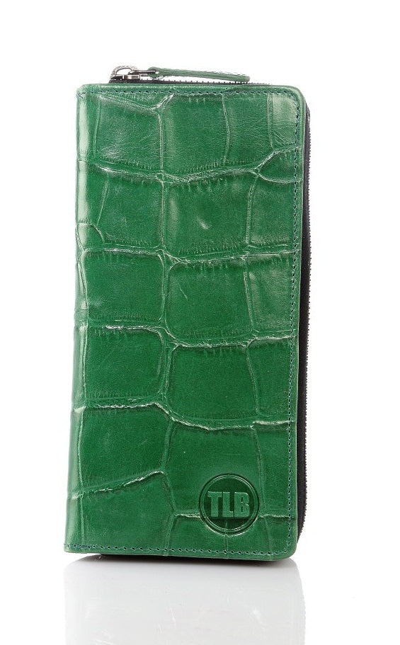 Zip Around Wallet - TLB - The Leather Boutique