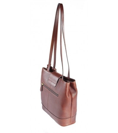 Butter Leather Debby Bag in Sumptuous Brown