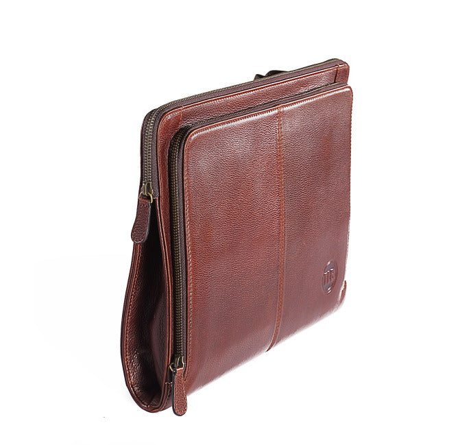 Wallstreeter Leather Laptop Sleeve - The Leather Boutique