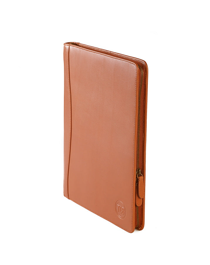 Aberdeen Leather Folder - TLB - The Leather Boutique