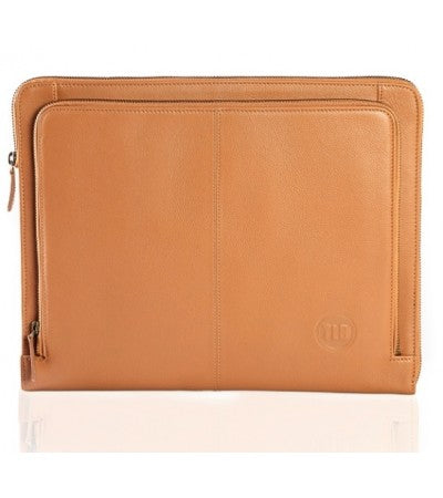 Wallstreeter Leather Laptop Sleeve - TLB - The Leather Boutique