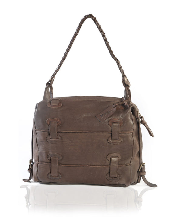 Juniper Hobo Chocolate Brown Leather Bag