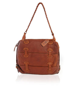 Juniper Hobo Brown Leather Bag