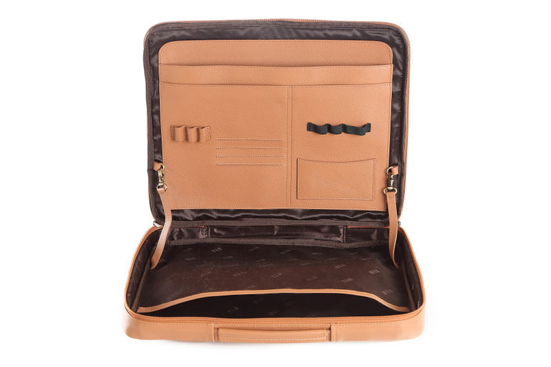 Astor Leather Laptop Sleeve - The Leather Boutique