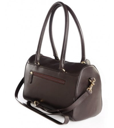 Madera Grab Dark Brown Purse