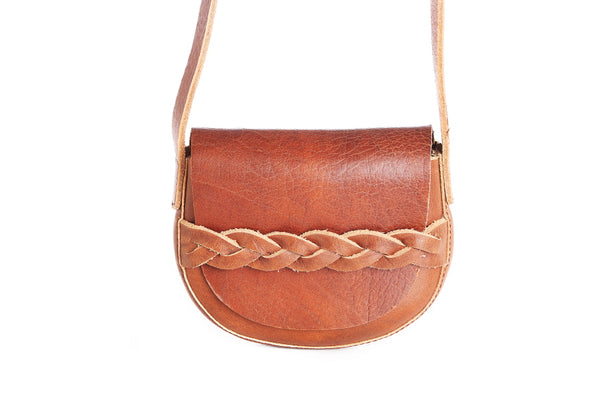 Petite Leather Saddlebag - The Leather Boutique