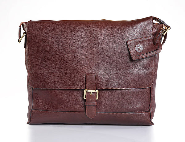 Yogi Leather Satchel - TLB - The Leather Boutique