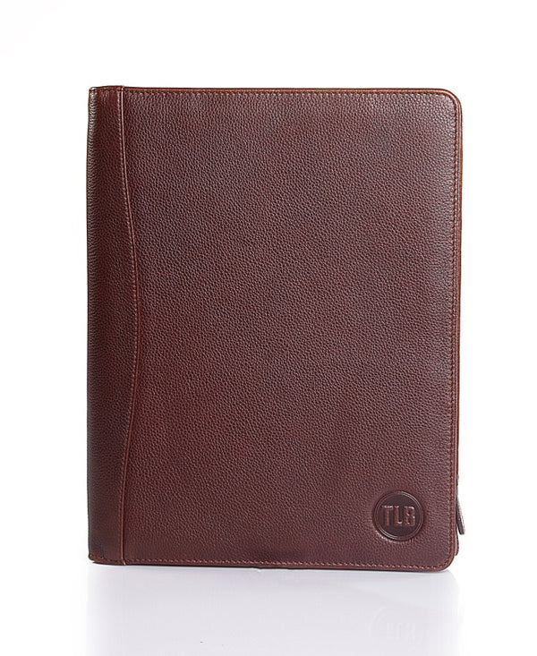 Men's Aberdeen Brown Leather Folder