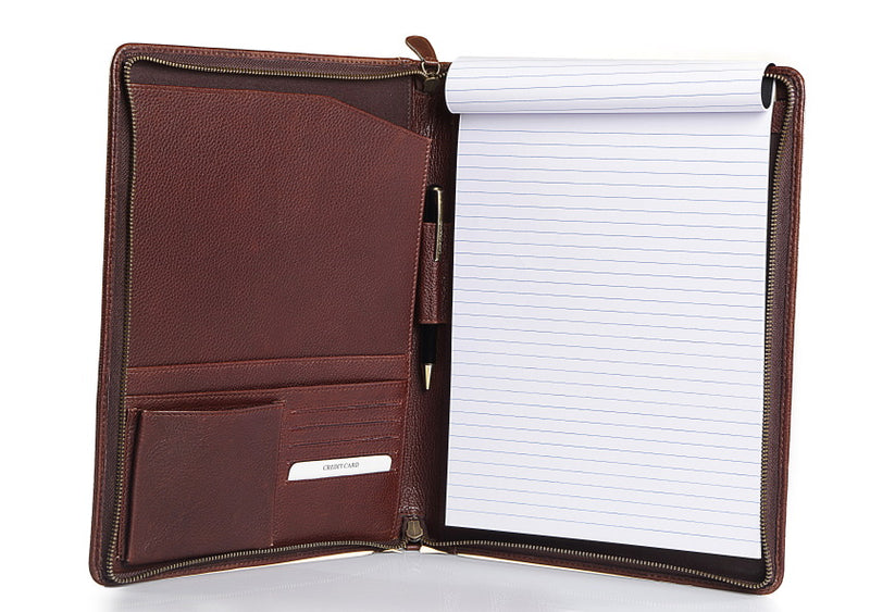 Aberdeen Leather Folder - The Leather Boutique