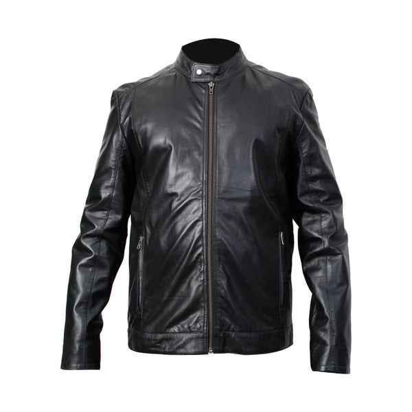Mens Jacket (John) - TLB - The Leather Boutique