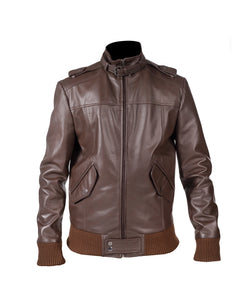 Mens Nappa Leather Jacket (Paul) - TLB - The Leather Boutique