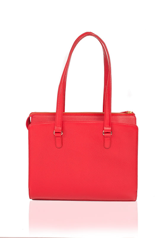 Beluga Leather Handbag - The Leather Boutique