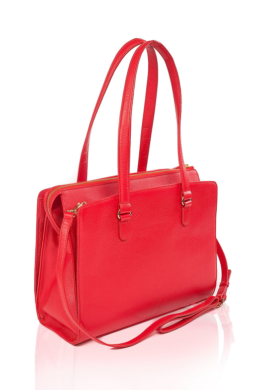 Beluga Leather Handbag - TLB - The Leather Boutique