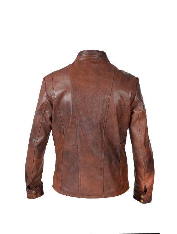 Men's Nappa Leather Jacket (Ralph) - The Leather Boutique