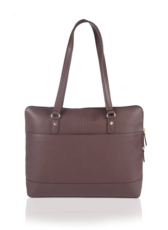 Wellesley Women's Laptop Bag - The Leather Boutique