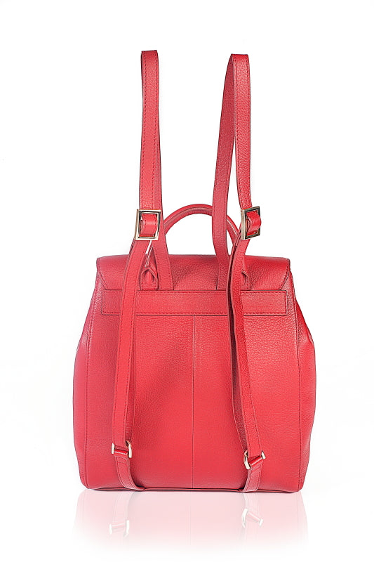 Strawberry Fields Leather Backpack - The Leather Boutique