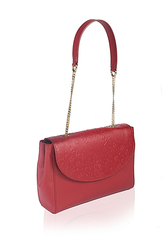 Oleander Leather Shoulder Bag - TLB - The Leather Boutique