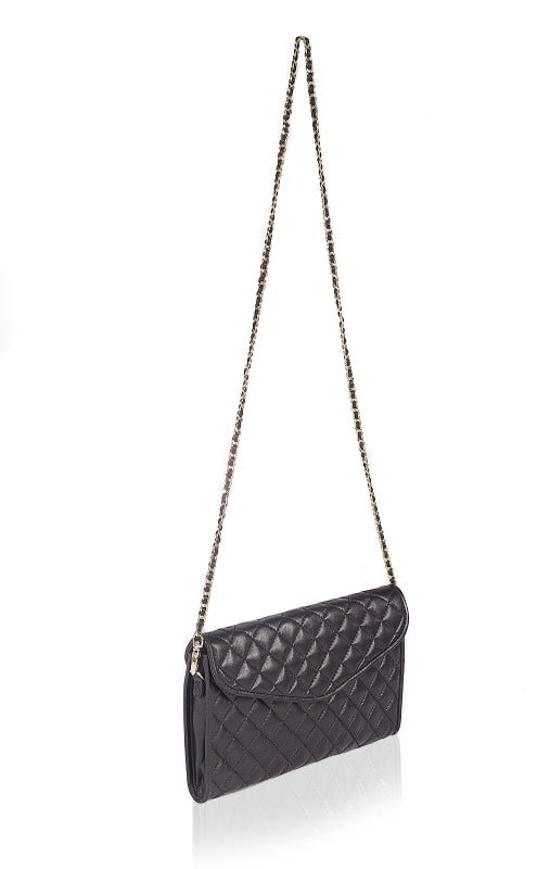 Coco's Quilted Leather Clutch - The Leather Boutique