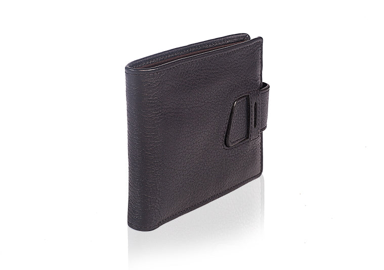 Leather Bootstrap Wallet - TLB - The Leather Boutique