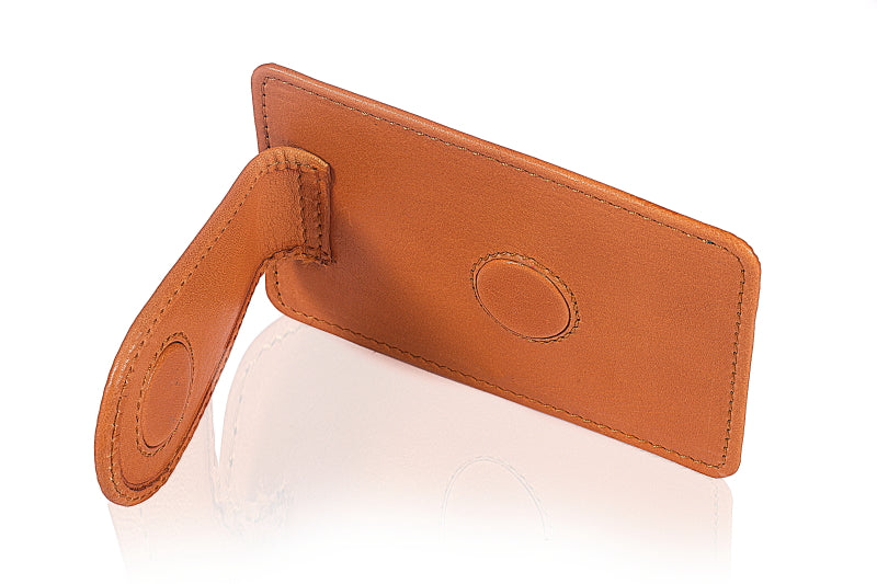 Leather Toffee Moo Clip