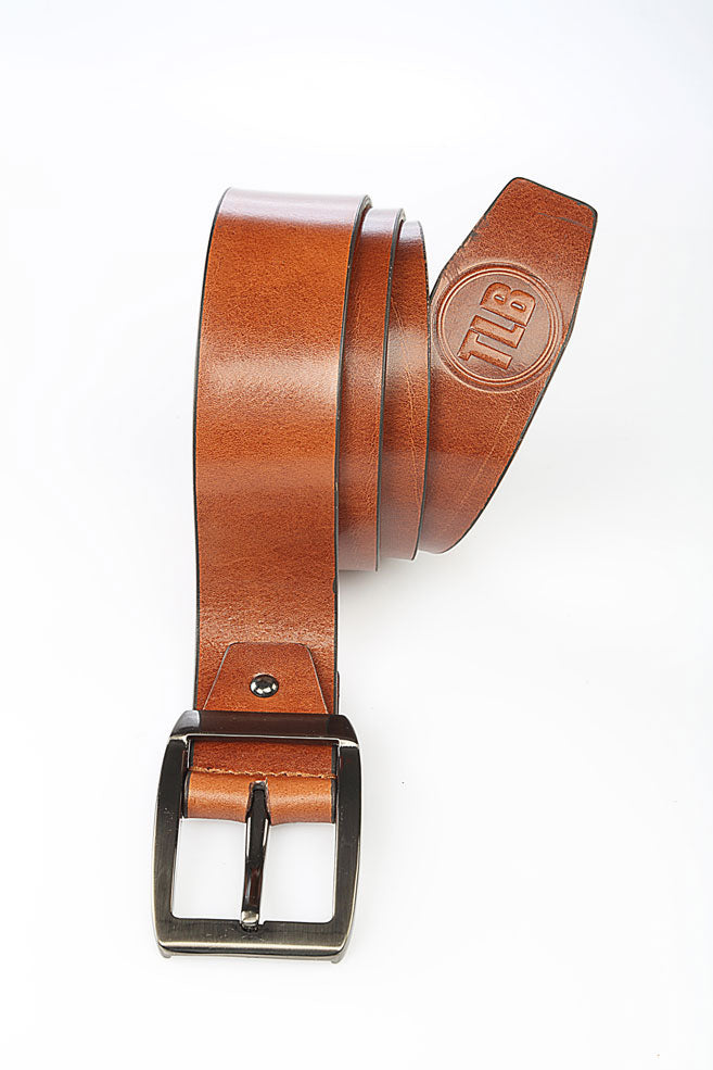 Casual Tan Leather Belt