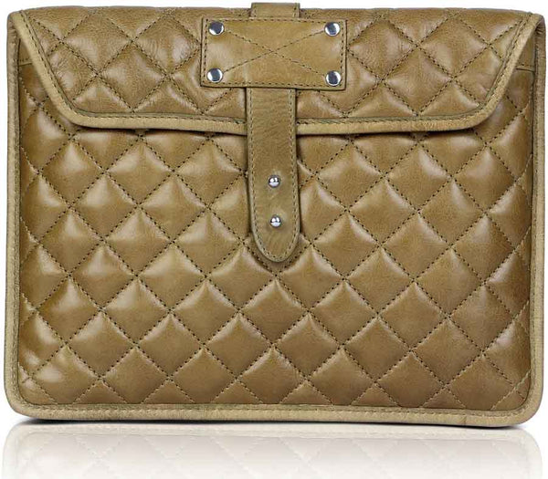 Quilted Ipad Sleeve Grab-And-Go - The Leather Boutique