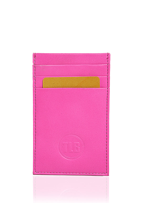 Nifty Card Sleeve - TLB - The Leather Boutique