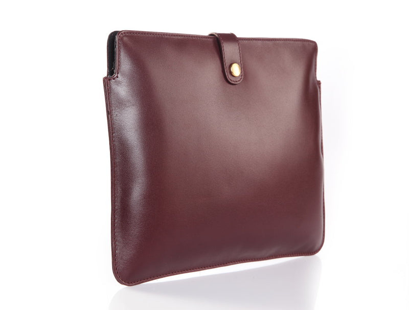 Zen Ipad Ruby Leather Sleeve