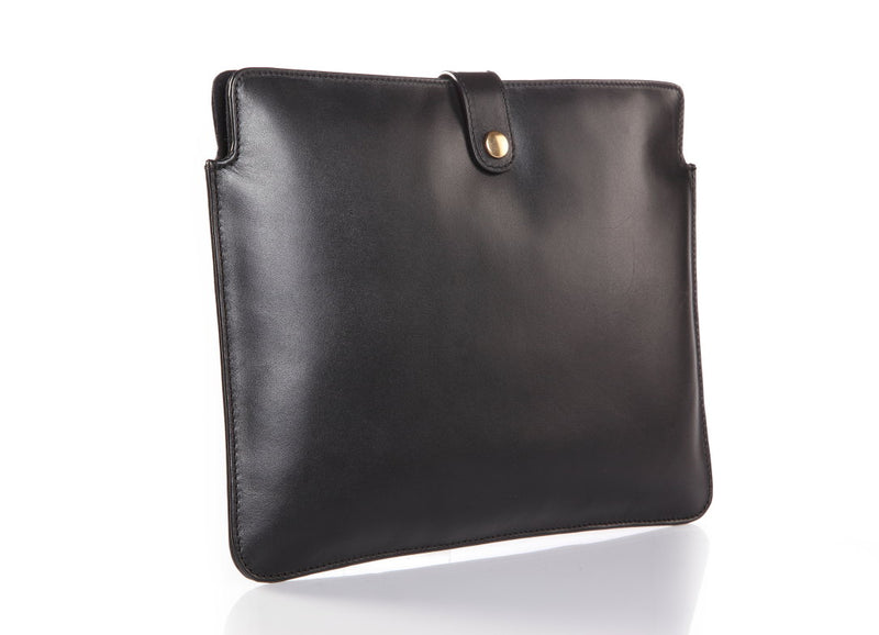 Zen Ipad Black Leather Sleeve