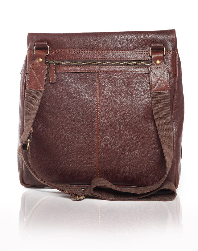 Tudor Leather Messenger Bag - The Leather Boutique