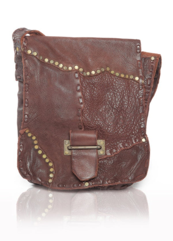 Steampunk Leather Satchel - The Leather Boutique