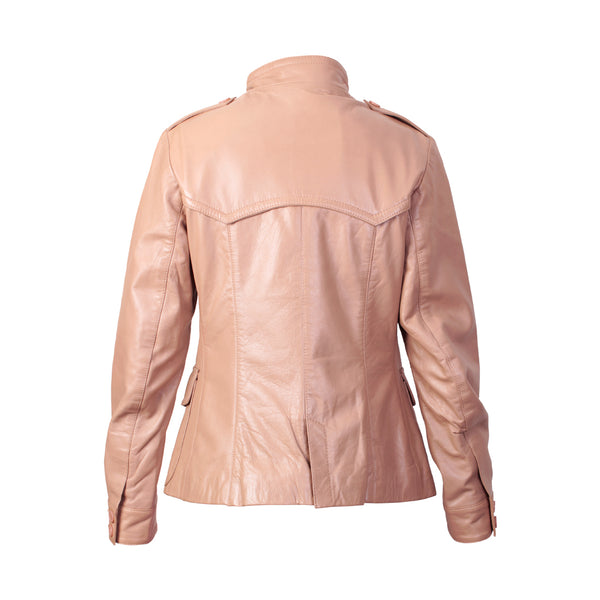 Women's Leather Jacket (Norah) - TLB - The Leather Boutique