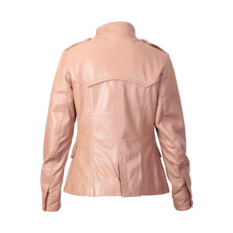 Women's Leather Jacket (Norah) - The Leather Boutique