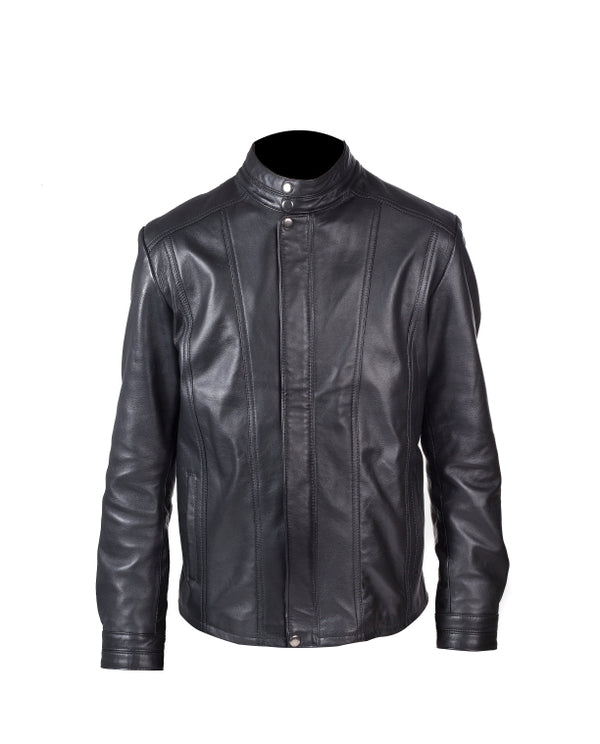Men's Nappa Leather Jacket (Ralph) - TLB - The Leather Boutique